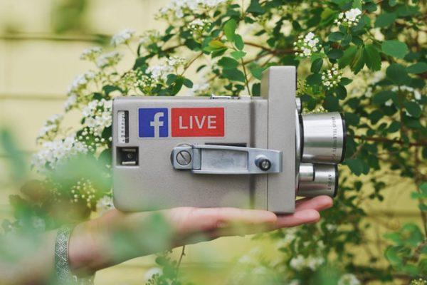 מצלמת לייב לפייסבוק